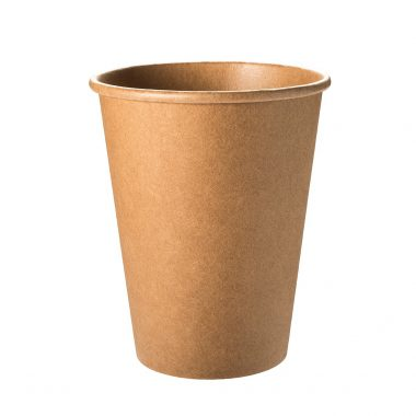 MaxiCup 300 ml Recycling Coffee to Go Kraftpapier Becher, 90 mm