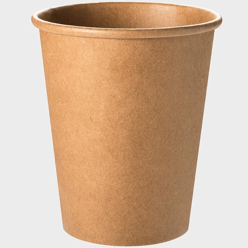 Kraftpapier Bio Recycling Maxicup To Go Becher